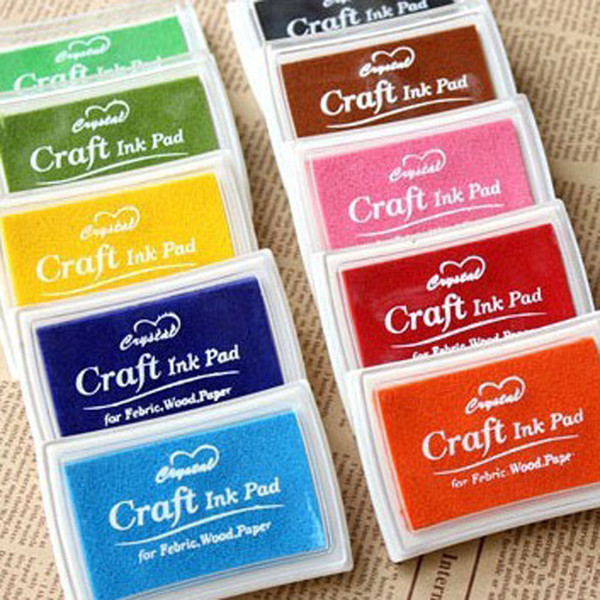 New Sealing Seal Hot 1 Pcs Stamps Ink Decoration Diy Scrapbooking Pad Crafts 2018 Inkpads