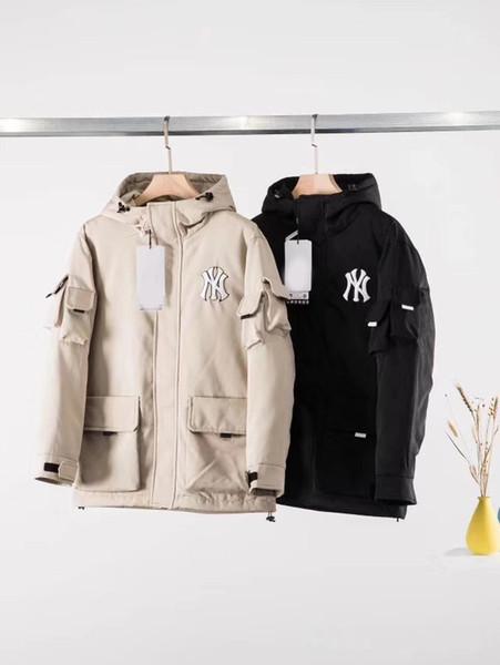 Nouveau Manteau chaud Vente de mode canadien manteau d'hiver d'hommes Veste étoile Même vêtements pour hommes Manteau d'hiver de poche Décoration