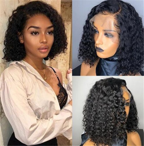 6A Peruvian Loose Curly Wigs Human Hair Unprocessed Human Hair Wigs Glueless Wigs For Black Women
