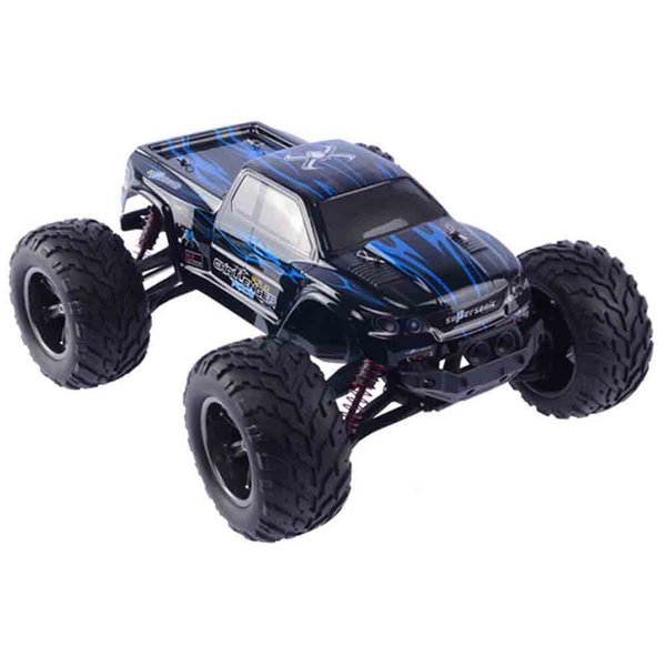 9115 1 / 12 Scale 2.4G 4CH RC Truck Toy with 2 - Wheel Driven Electric Racing Truggy Drive Bigfoot Car Remote Control Model