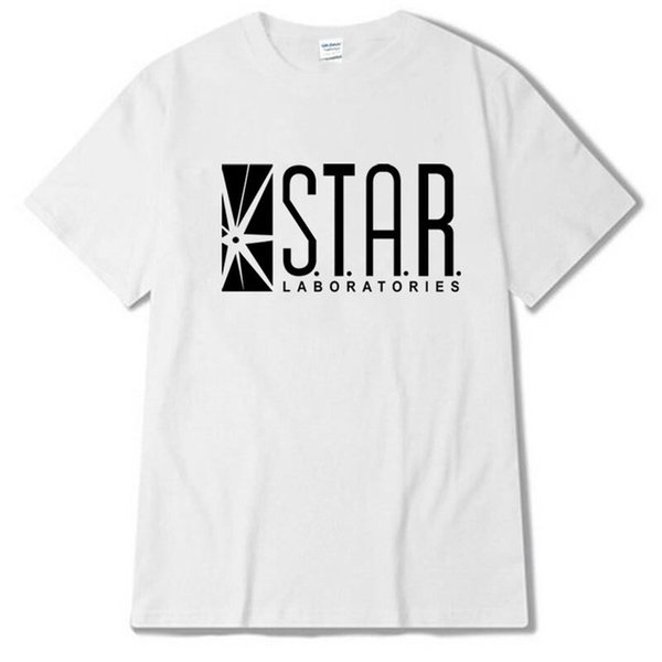 2019 Womens luxury designer t shirts STAR labs new fashion T shirt men summer tops tees jumper the flash city comic books superman