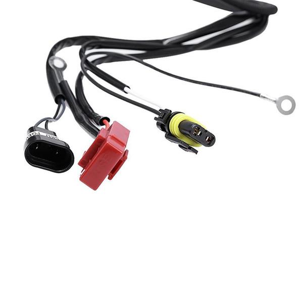 12V 55W 9005 9006 Bulb Fortalecer Linha Multifunction HID Xenon controlador do relé de cablagem de farol do carro Wiring Kit