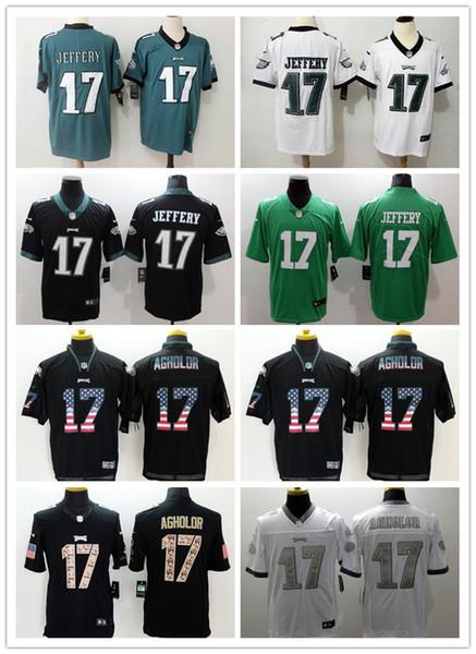 half off 9dd7f 3f6be 2019 Mens 17 Alshon Jeffery Philadelphia Eagles Football Jersey Stitched  Embroidery Eagles Alshon Jeffery #Rush Football Shirts Groom Shirt Groom ...