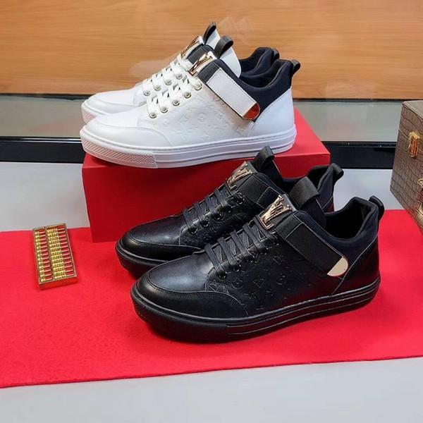2019Tasarımcı Erkek Lüks Ayakkabı Koşu SneakersBurberry 2020 Erkekler rahat ayakkabılar 38-44 1684-8