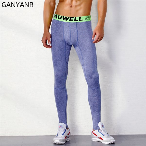 Running Tights Men Sports Leggings Yoga Basketball Compression Pants Athletic Fitness Bodybuilding Gym Jogging Sexy Gay