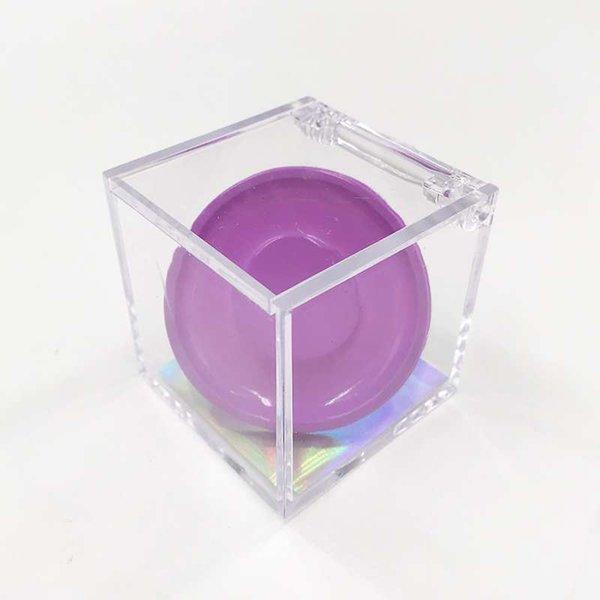 purple cube box