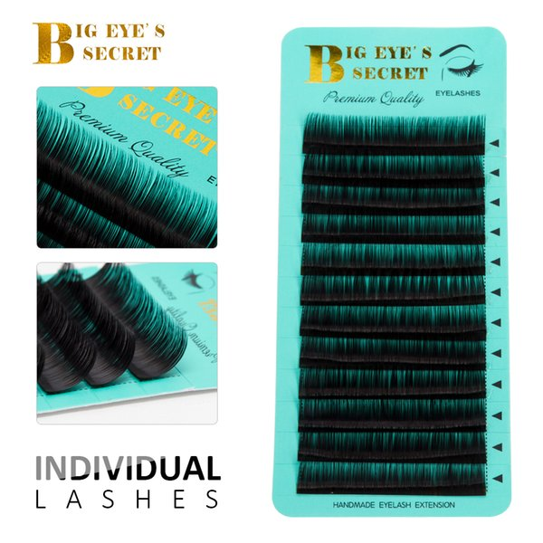 12 Rows Faux mink individual eyelash extension 1 case seashine lashes extension for professionals soft eyelash extension free shipping