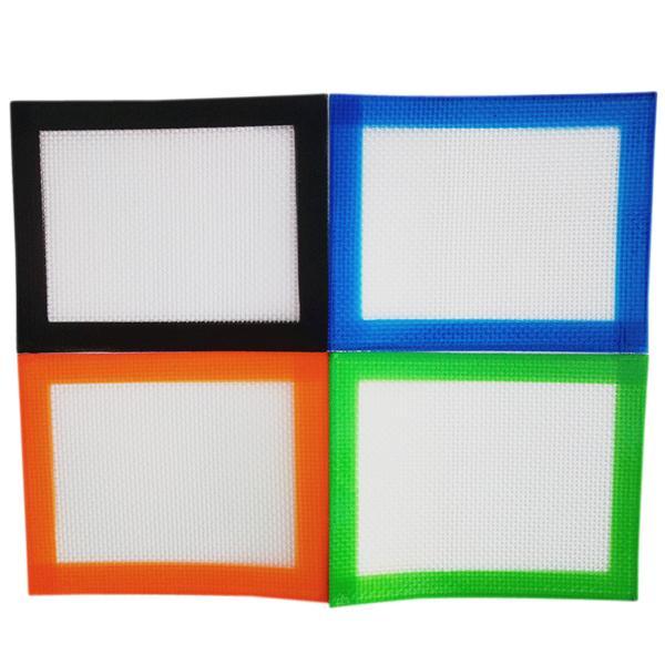 102x127mmFDA aprobado Alfombra de cera bho con doble capa de silicona antiadherente de grado alimenticio antiadherente con silicona y fibra de vidrio