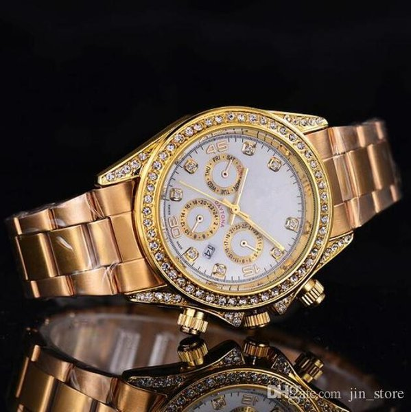 top popular 2019 Luxury GENEVA Watches Womens Diamonds Watch Bracelet Ladies Designer Wristwatches 3 Colors Free Shipping 2020