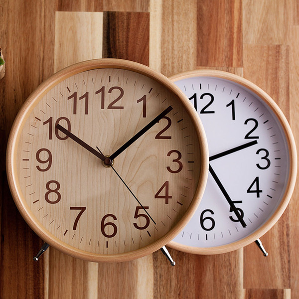 2019 Desk Clock Office Decoration Table Clock Office Decoration Nordic Design Shabby Chic Home Decor Decorations Living Room Wzh029 From Greenliv