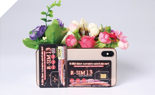 Original Rsim R SIM 13 Unlocking Card For Phone Xs Max Xr IOS 12 X Japan  Softbank AU Docomo LTE Iccid US Mexico US Sprint Unlocking A Cell Phone