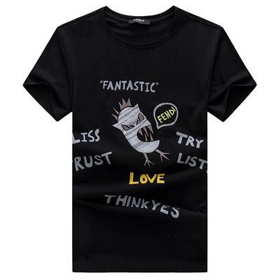 2019 FF Brand Eyes Design Verano Camisetas 1119 Italia Hight street Moda estilo casual Hip Hop Estampado de algodón Tops O-cuello tees