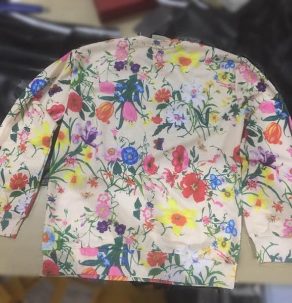 Felpe Designer per le donne Felpe Uomo 2019 Autnmn Marca con cappuccio con fiori Città Nomi manica lunga Pullover Mens Top M-2XL