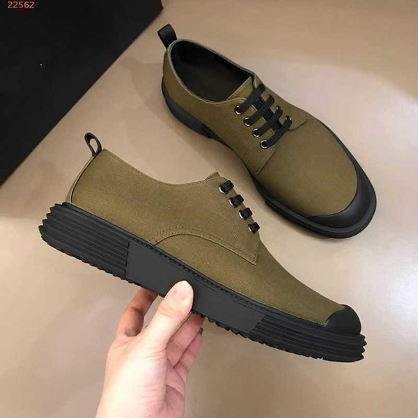 Fashion Delicate Generous Casual Shoes Army Green And Black Trendy Hi Top  Men Casual Shoes Casual Shoes With Dust Bag Boot Socks Biker Boots From