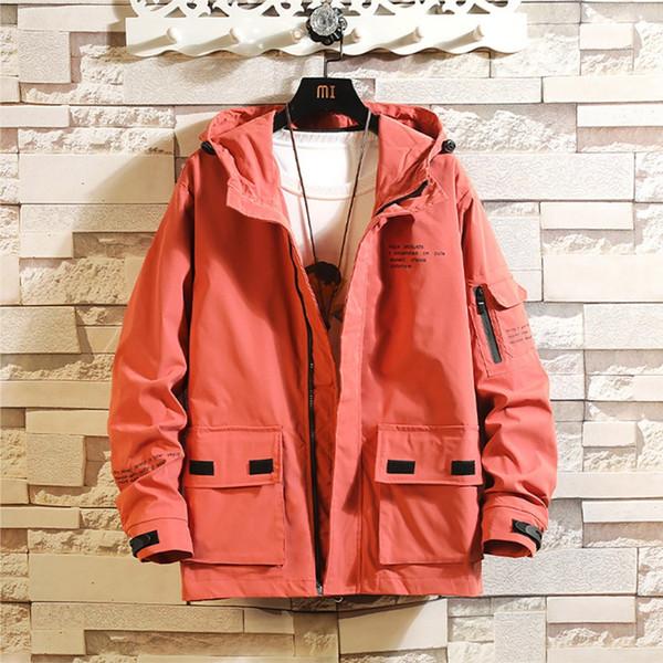 Jacke Männer New Style Fashion Japanese Herren Herbst Winter Casual Outwear Reißverschluss Atmungsaktiver Mantel Patchwork Mantel