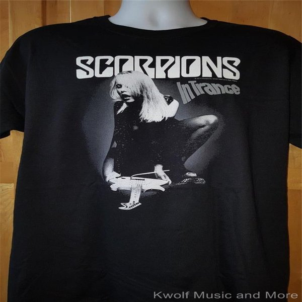 Cheap Custom T Shirt Printing Novelty Short Sleeve Mens Scorpions Tees