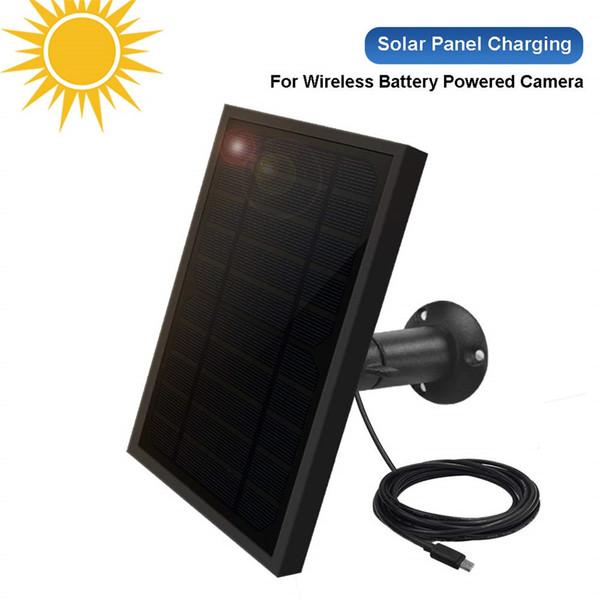 Painel solar à prova de intempéries para a segurança alimentada por bateria exterior sem fio Painel solar à prova de intempéries para a segurança alimentada por bateria exterior sem fio