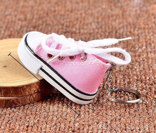Chaussures Porte-clés Chaussures Casual 8 clés Couleurs Chain Chaussures couleur pendentif en gros Livraison gratuite