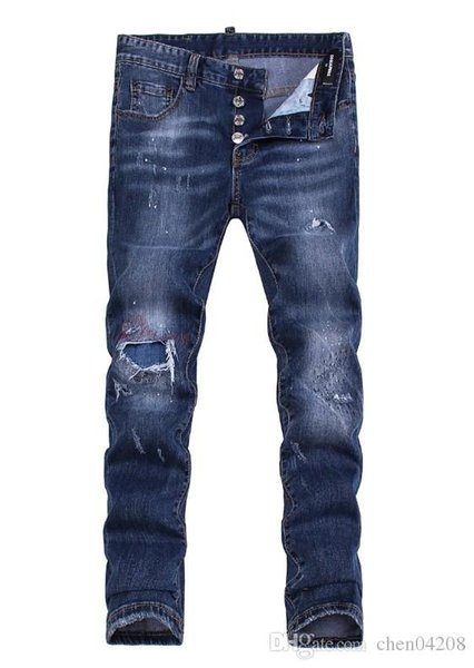 Summer 2019 wholesale men's jeans, European denim production of good quality men's wear welcome to size 28-38:44-54 027