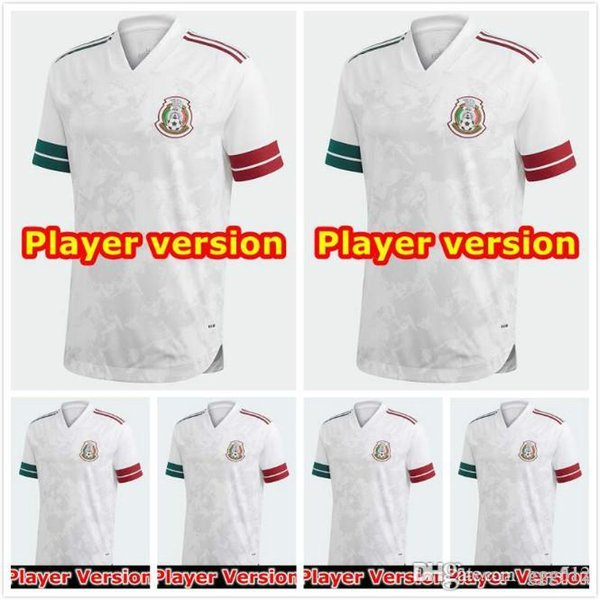 Player Version 2020 Mexico Soccer Jersey National Gold Cup Home Black 20 21 CHICHARITO LOZANO GUARDADO CARLOS VELA RAUL Football Shirts