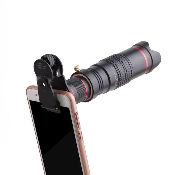 Kit universal de lentes para teléfonos móviles telefoto 22X y lente de cámara para teléfonos inteligentes Samsung xiaomi iphone7s