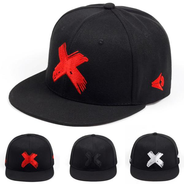Kostenloser Versand Baumwolle 3D Stickerei Brief Baseball Cap Snapback verstellbare Hüte Männer und Frauen Casual Hip Hop Ball Hut