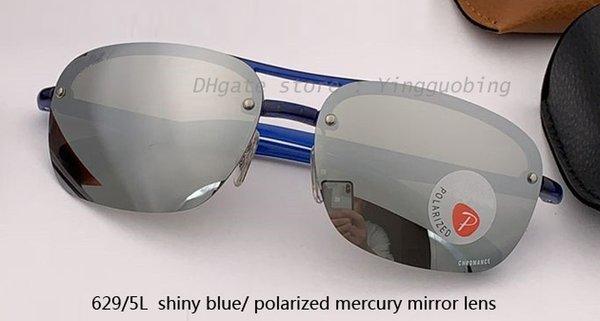 629 / 5L زرقاء لامعة / الزئبق المستقطب