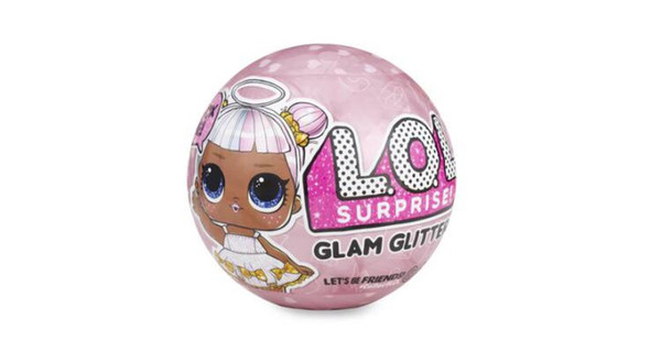 (LOL logolu) 10cm GLAM parıltılı