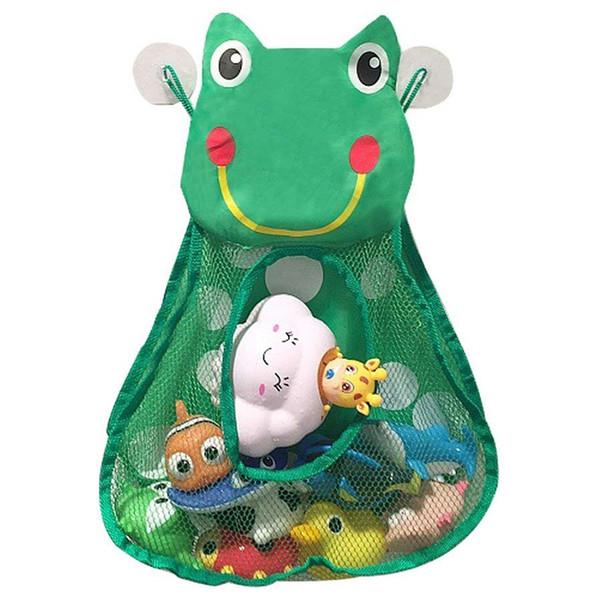 SNNY NEW Bath Toy Organizers,Kids Toy Storage Caddy,Bathtub Storage Bags For Baby Toddlers,Bathroom Net Bag With 3 Str