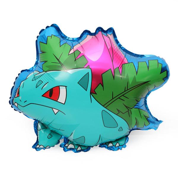 2019 pikachu jenny schildkröte miao frosch samen kleine feuer drachen aluminium ballon niedlichen tier luftballon kinder beste geschenk freies verschiffen