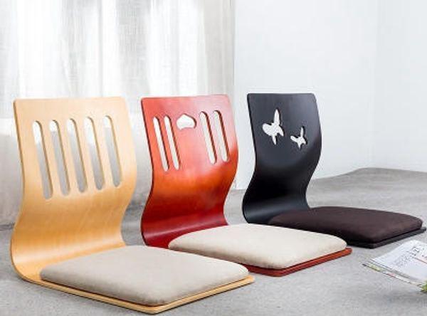 2019 Floor Seating Zaisu Chair Asian Design Living Room Furniture Japanese  Style Tatami Legless Meditation Chair Cushion From Cn2019cn, $60.31 | ...