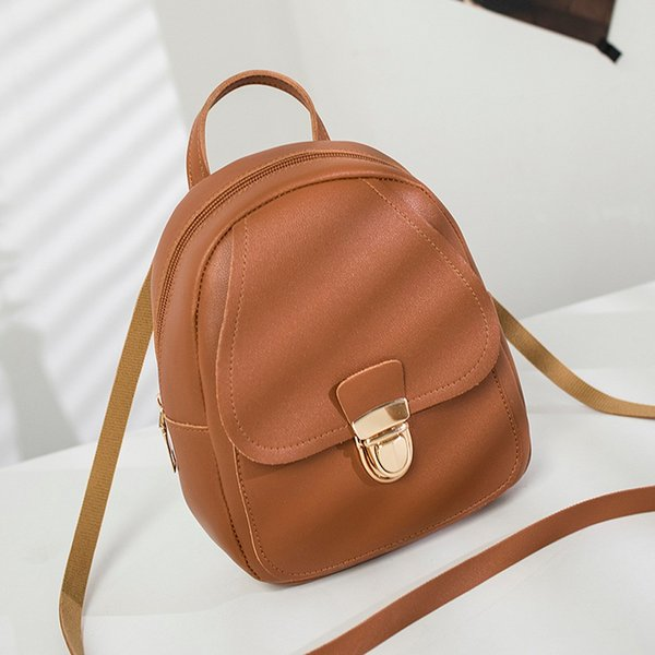 2019 New Girl Headphone Hole Backpack Slung Student Shoulder Bags Mobile Phone Purse Borsa a tracolla da donna Dropshipping#40