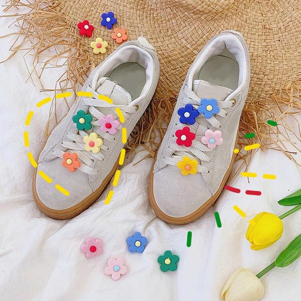 2019 nueva flor cordones decorativos cordones hebilla lindas chicas encantadoras mujeres decoración tridimensional para zapatos accesorios
