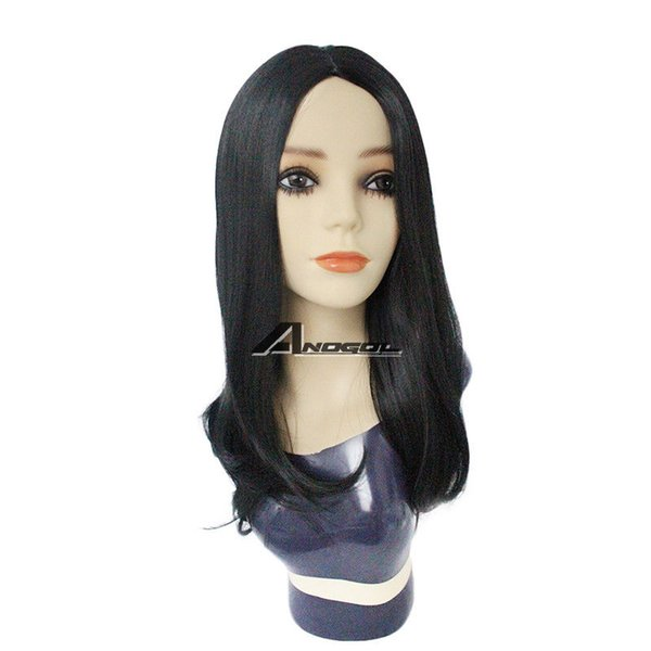 Sexy Women Natural Wavy Straight Long Hair Wigs Affordable Remy Synthetic Wig
