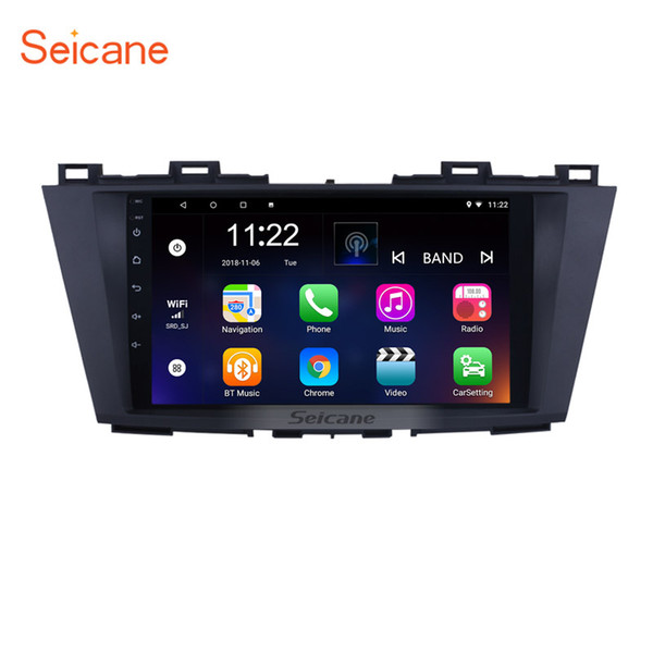 Android 8.1 9 inch GPS Navi Car autoradio for 2009 2010 2011 2012 Mazda 5 with Bluetooth USB support DVR TV Video Steering Wheel control