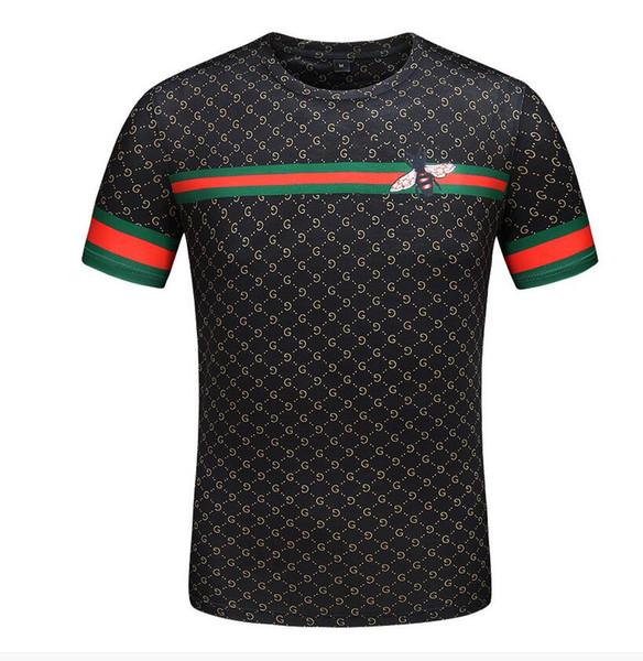 Новые мужские дизайнерские футболки с высококачественной печатью - очень идеальная голова Есть этикетка Medusa Мужские футболки азиатского размера