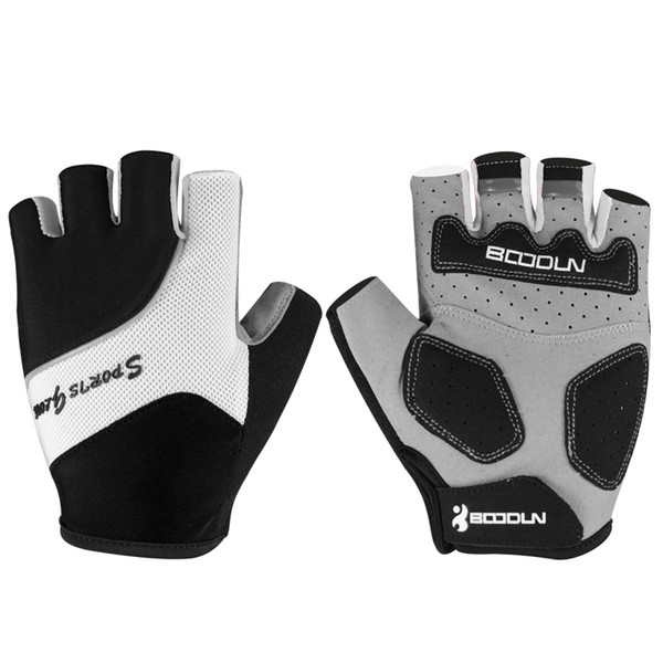 Boodun Gym Gloves Men Women Body Building Half Finger Fitness Gloves An-slip Weight Lifting Sports Training Fingerless Gloves C19022301