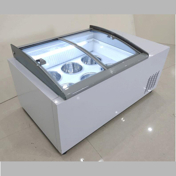 best selling ice cream display cabinet commercial freezer for cold drinks shop store supermarket ice cream display cabinet