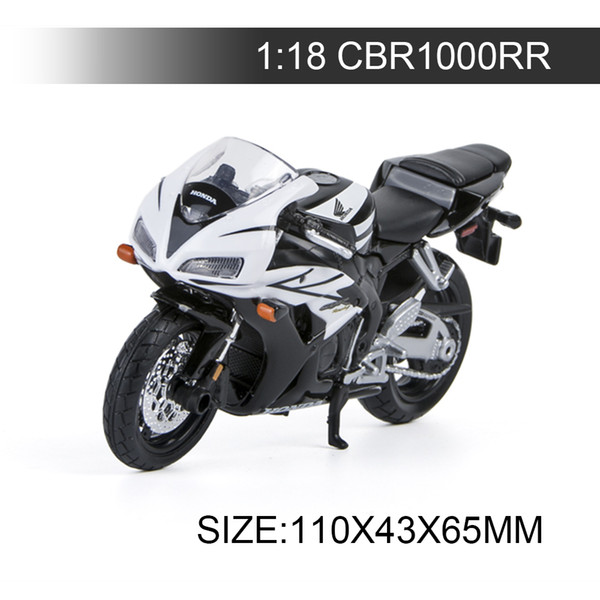 1:18 Motorcycle Models CBR1000RR Model bike Alloy Motorcycle Model Motor Bike Miniature Race Toy For Gift Collection