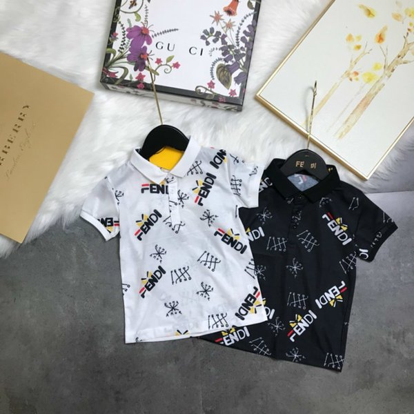 cc563d38c Children's wear boy Short sleeve baby T-shirt child Polo shirt Summer  clothing 2019 new products Wholesale prices logo pattern in