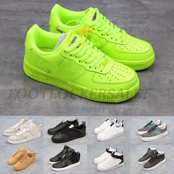 Air Dunk Green 1 07 Demon Pack Black White Designer Sports Sneakers Mens Womens Classic One Flats Casual Running Shoes des chaussures 36-45
