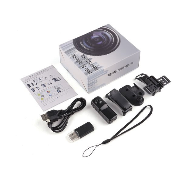 Mini MD81S Kamera Camcorder Wifi IP P2P Wireless DV Kamera Geheime Aufnahme CCTV Android iOS Camcorder Video Espia Nanny Candid