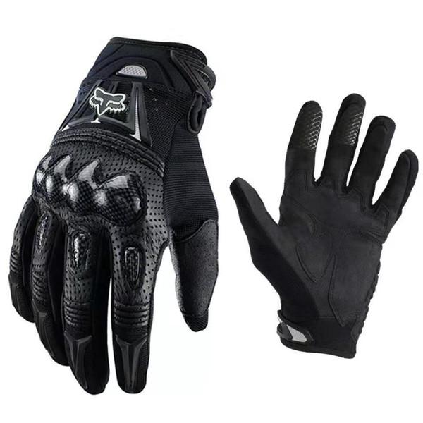 gants de moto coque en fibre de carbone moto gants de plein air dure coquille gants d'équitation hors route