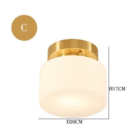 C Потолочный светильник
