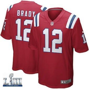 buy online e9ad3 86754 2019 Patriots Tom Brady Jersey Super Bowl LIII Rob Gronkowski Julian  Edelman Custom Vapor Untouchable Color Rush American Football Jerseys Rugby  From ...