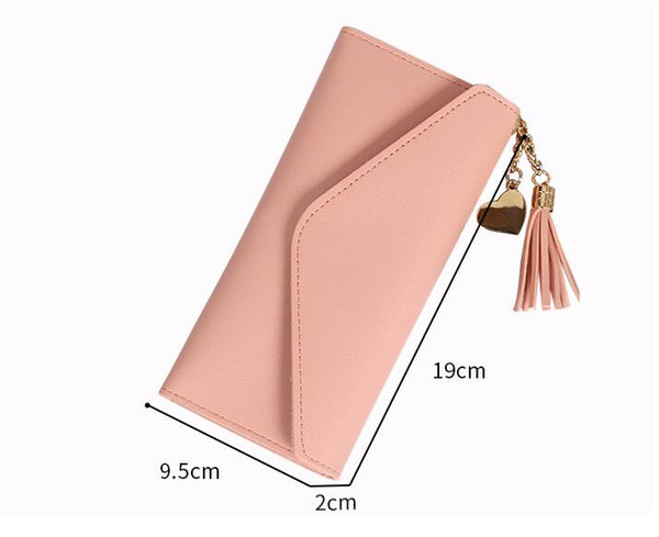 top popular Hot sale and wholesale 2020 fashion ladies single cheap wallets women pu leather wallet lady ladies long purse 2020