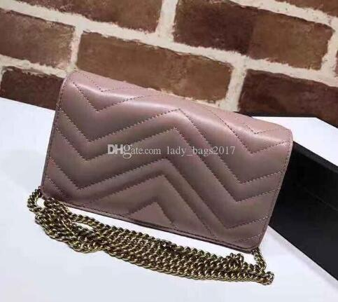 best selling Classic Love Heart V Wave Pattern Satchel Chain Bags Key Chain Real Leather Crossbody Shoulder Bag Purse Messenger Handbag