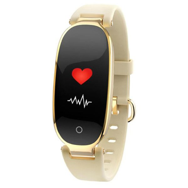 Female S3 color screen smart watch heart rate blood pressure sleep monitoring step counter fitness ladies sports smart bracelet