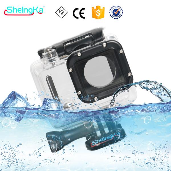 Трансграничные OEM цифровой GoPro Hero3 водонепроницаемый корпус GoPro Hero4 водонепроницаемый корпус спортивная камера GoPro Hero3 водонепроницаемый чехол