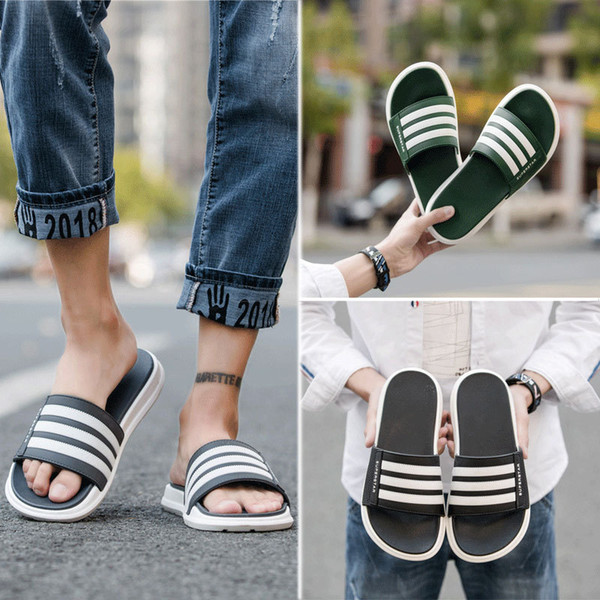 top popular Fashion slide sandals slippers for men women WITH ORIGINAL BOX Hot Designer flower printed unisex beach flip flops slipper FY9014 2020
